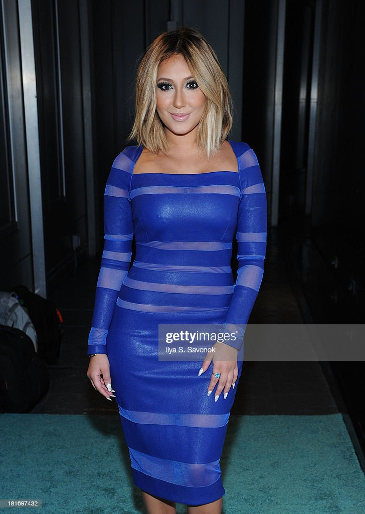 Actress/singer Adrienne Bailon attends The Sparkle Louder Program Launch Event at Provacateur on September 23, 2013 in New York City.