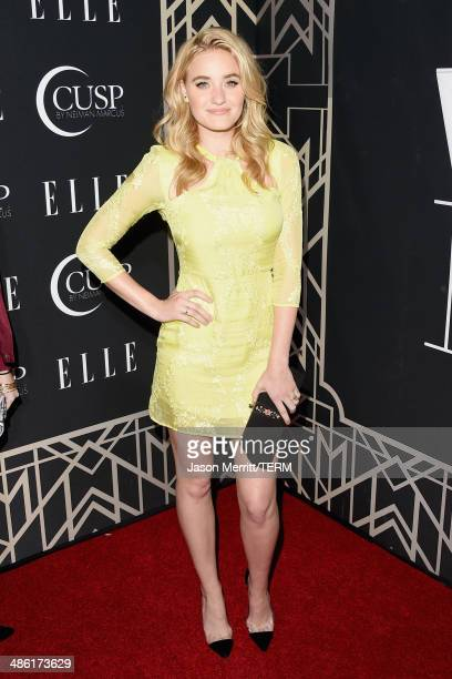 Actresssinger AJ Michalka attends the 5th Annual ELLE Women in Music Celebration presented by CUSP by Neiman Marcus Hosted by ELLE EditorinChief...