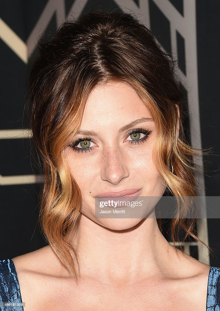 Actress-singer Aly Michalka attends the 5th Annual ELLE Women in Music Celebration presented by CUSP by Neiman Marcus. Hosted by ELLE Editor-in-Chief Robbie Myers with performances by Sarah McLachlan, Angel Haze and Betty Who, with special DJ set by Rumer Willis at Avalon on April 22, 2014 in Hollywood, California.