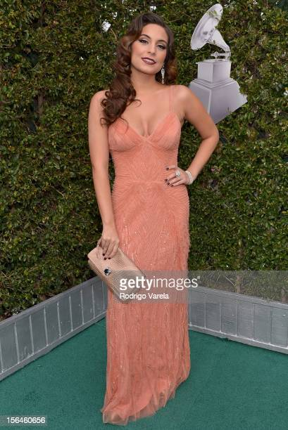 Actress/singer Ana Brenda Contreras arrives at the 13th annual Latin GRAMMY Awards held at the Mandalay Bay Events Center on November 15 2012 in Las...