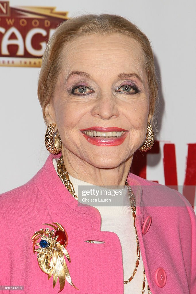 Actress/singer <a gi-track='captionPersonalityLinkClicked' href=/galleries/search?phrase=Anne+Jeffreys&family=editorial&specificpeople=209053 ng-click='$event.stopPropagation()'>Anne Jeffreys</a> arrives at the opening night red carpet for 'Evita' at the Pantages Theatre on October 24, 2013 in Hollywood, California.