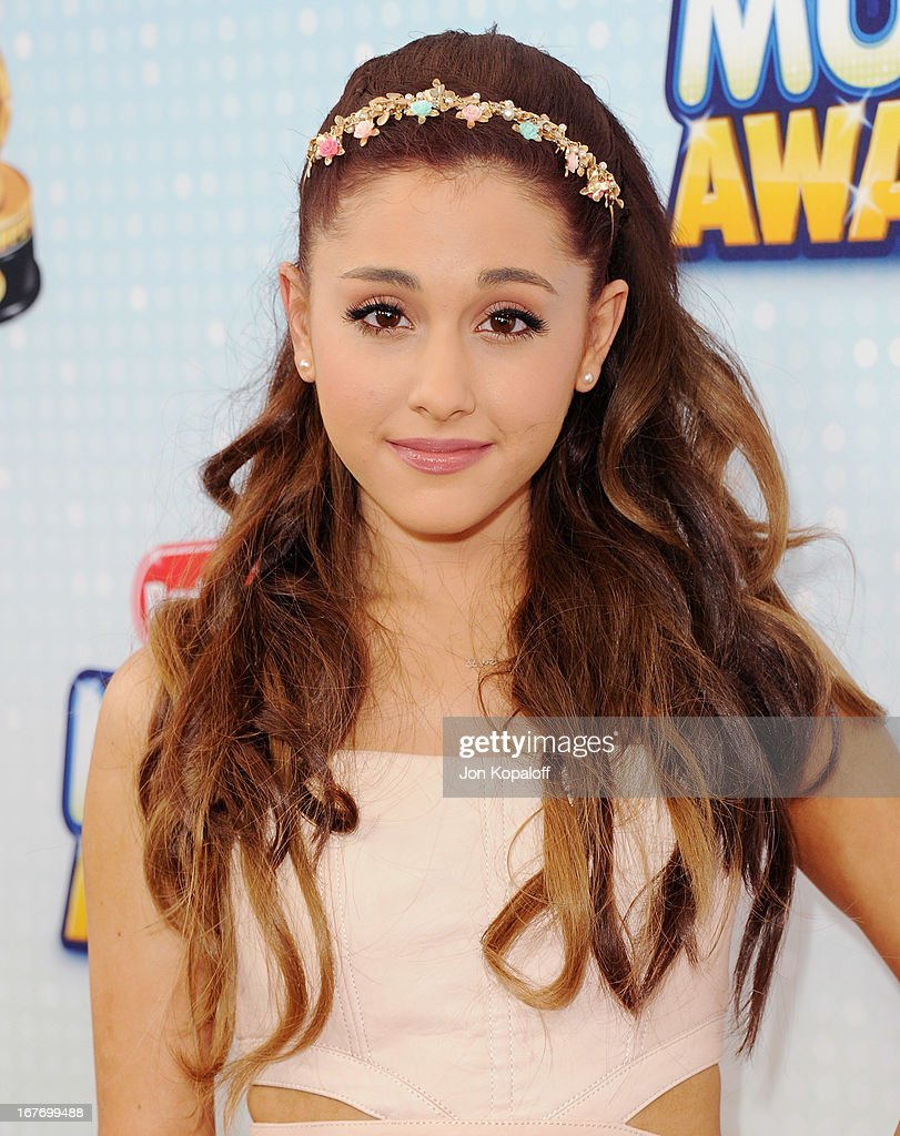 Actress/Singer Ariana Grande arrives at the 2013 Radio Disney Music Awards at Nokia Theatre L.A. Live on April 27, 2013 in Los Angeles, California.