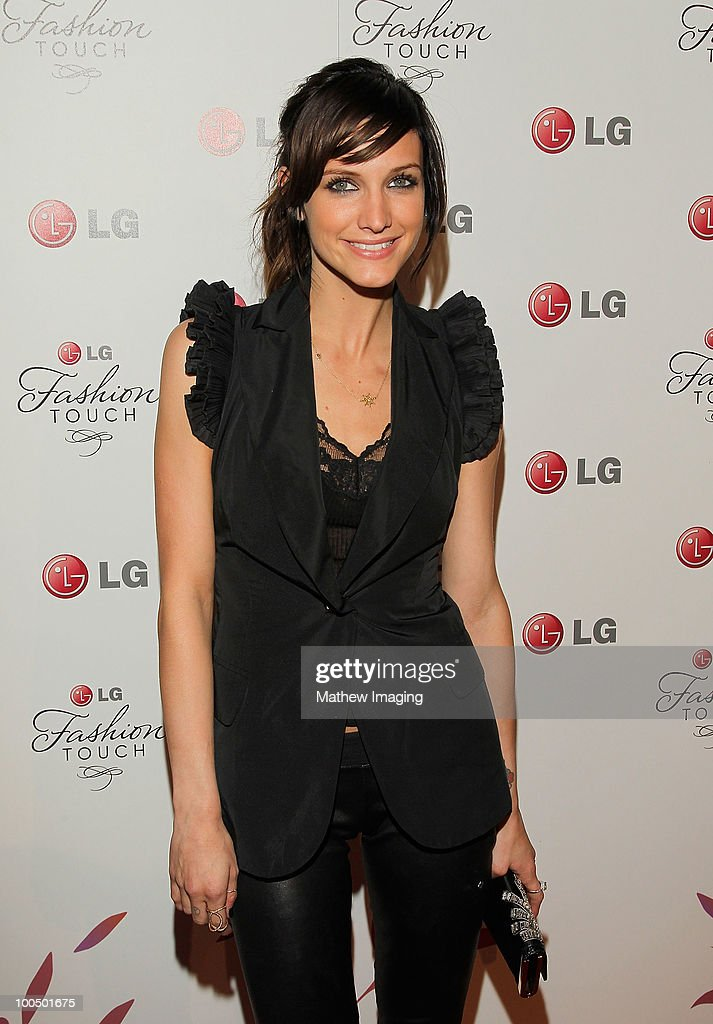 Actress/singer Ashlee Simpson-Wentz arrives at the Victoria Beckham and Eva Longoria Parker Host a Night of Fashion and Technology with LG Mobile Phones at Soho House on May 24, 2010 in West Hollywood, California.