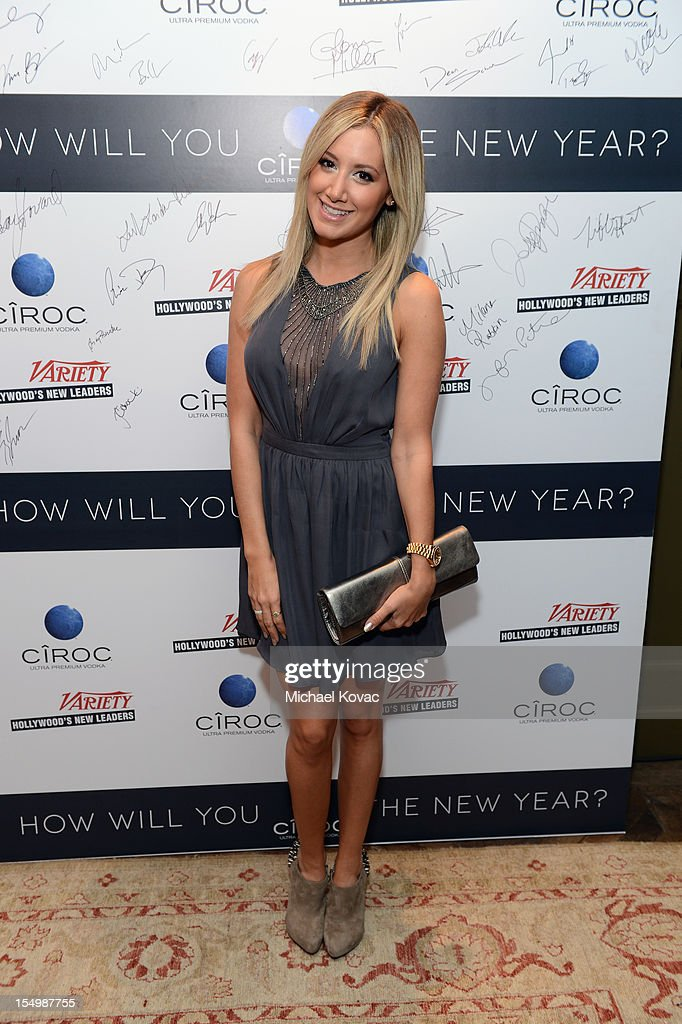 Actress/singer Ashley Tisdale attends Variety's Hollywood's New Leaders presented by Ciroc Vodka at Soho House on October 29, 2012 in West Hollywood, California.