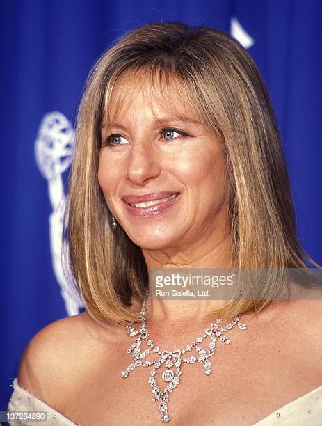 Actress/Singer Barbra Streisand attends the 47th Annual Primetime Emmy Awards on September 10 1995 at the Pasadena Civic Auditorium in Pasadena...