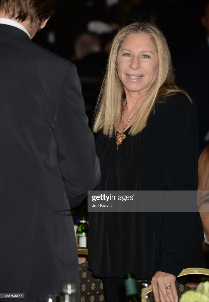 Actress/singer <a gi-track='captionPersonalityLinkClicked' href=/galleries/search?phrase=Barbra+Streisand&family=editorial&specificpeople=200745 ng-click='$event.stopPropagation()'>Barbra Streisand</a> attends USC Shoah Foundation's 20th Anniversary Gala at the Hyatt Regency Century Plaza on May 7, 2014 in Century City, California.