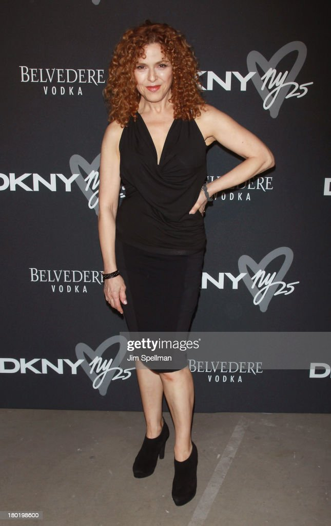 Actress/singer Bernadette Peters attends the #DKNY25 Birthday Bash at 23 Wall Street on September 9, 2013 in New York City.