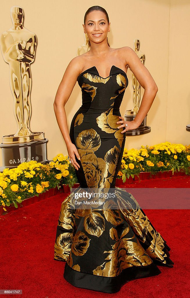Actress/singer Beyonce Knowles arrives at the 81st Academy Awards at The Kodak Theatre on February 22 2009 in Hollywood California