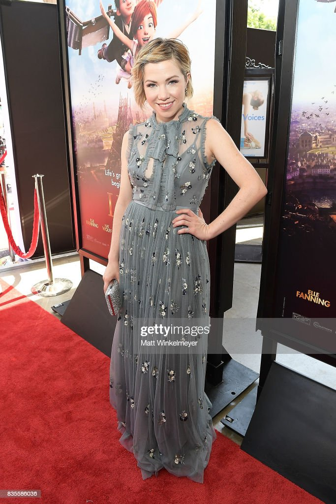 Actress/singer Carly Rae Jepsen attends the Weinstein Company's 'LEAP!' at The Grove on August 19, 2017 in Los Angeles, California.