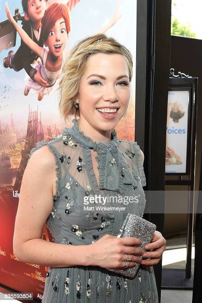 Actress/singer Carly Rae Jepsen attends the Weinstein Company's 'LEAP' at The Grove on August 19 2017 in Los Angeles California