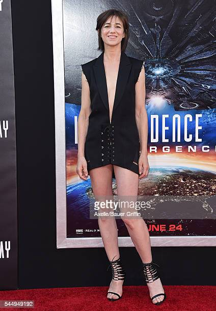 Actress/singer Charlotte Gainsbourg arrives at the premiere of 20th Century Fox's 'Independence Day Resurgence' at TCL Chinese Theatre on June 20...
