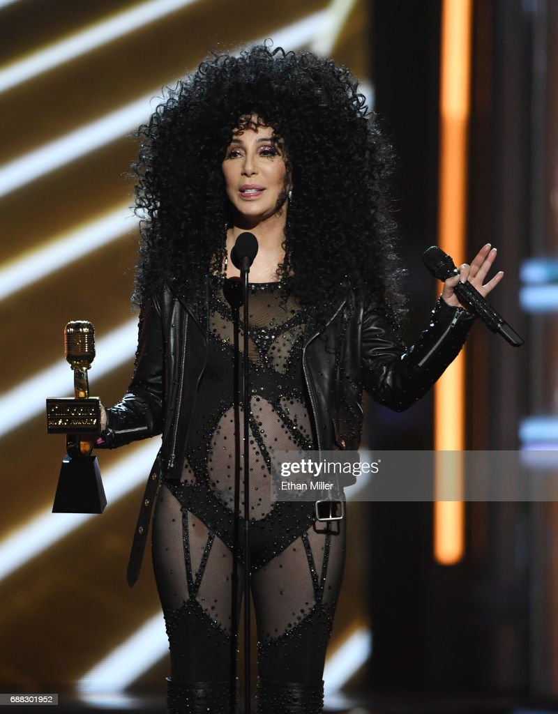 Actress/singer Cher accepts the Billboard Icon Award during the 2017 Billboard Music Awards at T-Mobile Arena on May 21, 2017 in Las Vegas, Nevada.