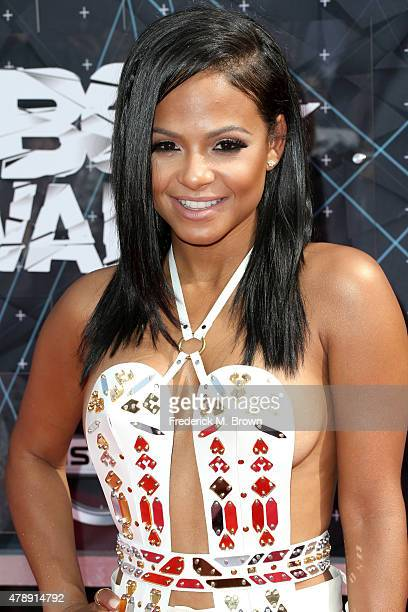 Actress/singer Christina Milian attends the 2015 BET Awards at the Microsoft Theater on June 28 2015 in Los Angeles California