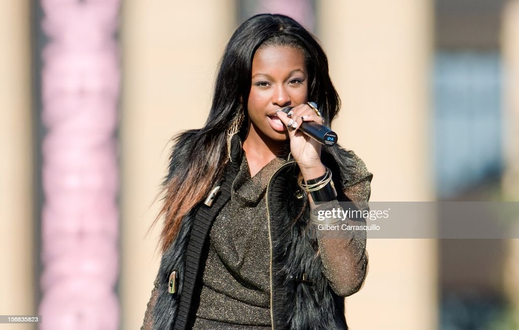 Actress/singer Coco Jones attends the 93rd annual Dunkin' Donuts Thanksgiving Day Parade on November 22, 2012 in Philadelphia, Pennsylvania.