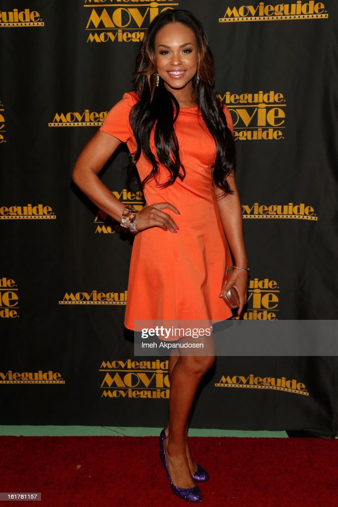 Actress/singer Demetria McKinney attends the 21st Annual Movieguide Awards at Universal Hilton Hotel on February 15, 2013 in Universal City, California.