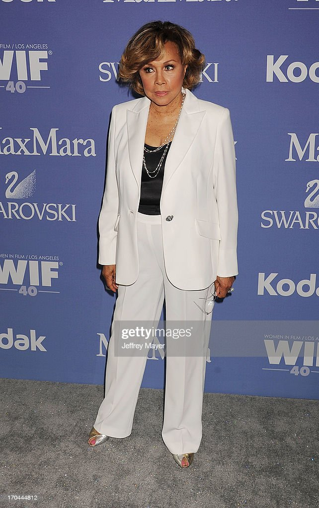Actress/singer Diahann Carroll attends Women In Film's 2013 Crystal + Lucy Awards at The Beverly Hilton Hotel on June 12, 2013 in Beverly Hills, California.