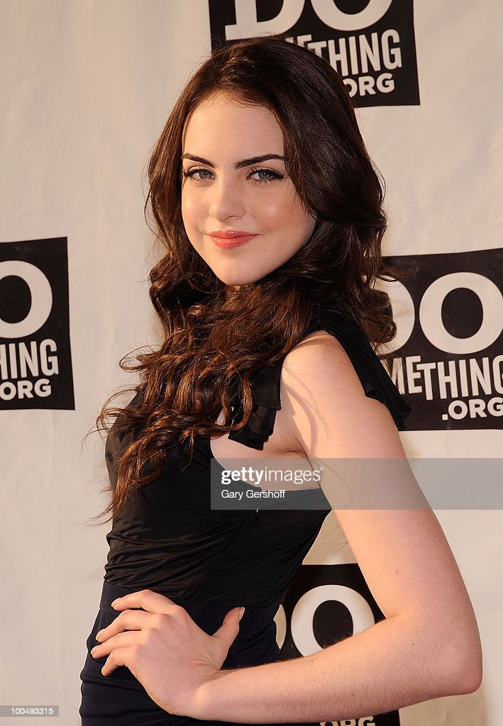 Actress/singer Elizabeth Gillies attends DoSomething.org's celebration of the 2010 Do Something Award nominees at The Apollo Theater on May 24, 2010 in New York City.