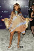 Actress/Singer Eve wearing a J Mendel dress attends the 2004 CFDA Fashion Awards June 7 2004 in New York City