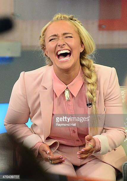 Actress/Singer Hayden Panettiere is seen at 'Good Morning America' on April 20 2015 in New York City