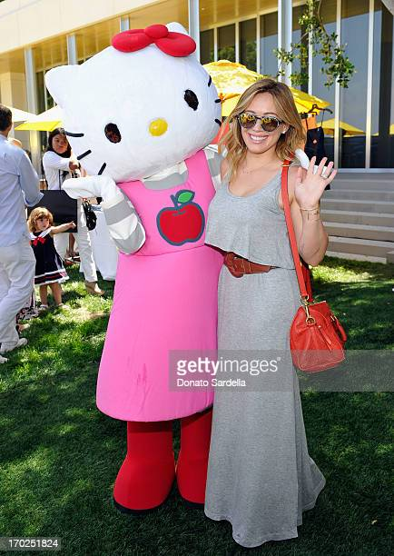 Actress/singer Hilary Duff attends the 1st Annual Children Mending Hearts Style Sunday on June 9 2013 in Beverly Hills California