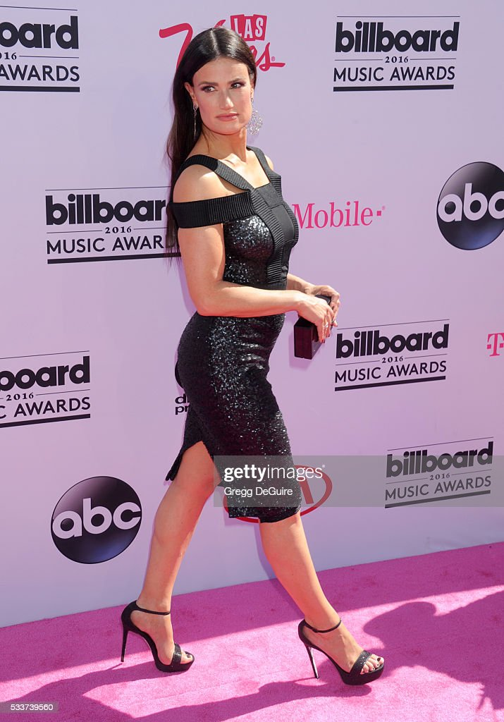 Actress/singer Idina Menzel arrives at the 2016 Billboard Music Awards at T-Mobile Arena on May 22, 2016 in Las Vegas, Nevada.