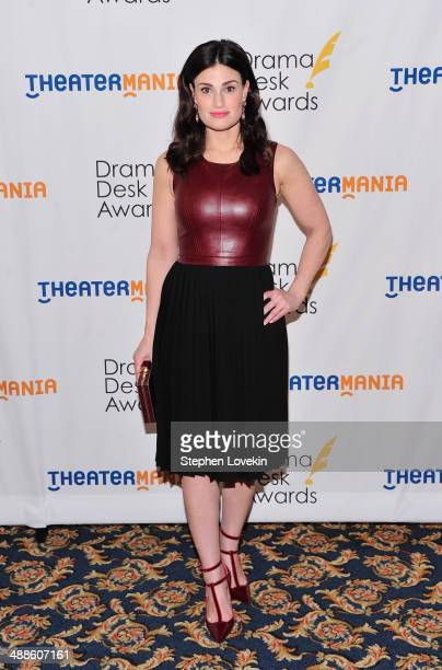 Actress/singer Idina Menzel attends the 2014 Drama Desk Awards Nominees Reception at Essex House on May 7 2014 in New York City
