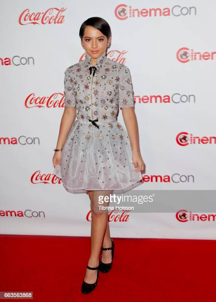 Actress/singer Isabela Moner recipient of the Rising Star of the Year Award attends the CinemaCon Big Screen Achievement Awards brought to you by the...