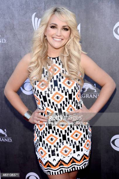 Actress/singer Jamie Lynn Spears attends the 49th Annual Academy of Country Music Awards at the MGM Grand Garden Arena on April 6 2014 in Las Vegas...
