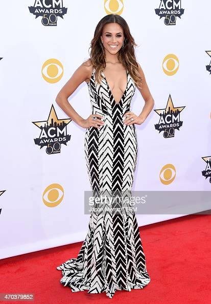 Actress/singer Jana Kramer attends the 50th Academy of Country Music Awards at ATT Stadium on April 19 2015 in Arlington Texas
