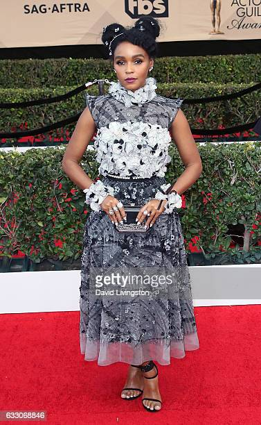 Actress/singer Janelle Monae attends the 23rd Annual Screen Actors Guild Awards at The Shrine Expo Hall on January 29 2017 in Los Angeles California