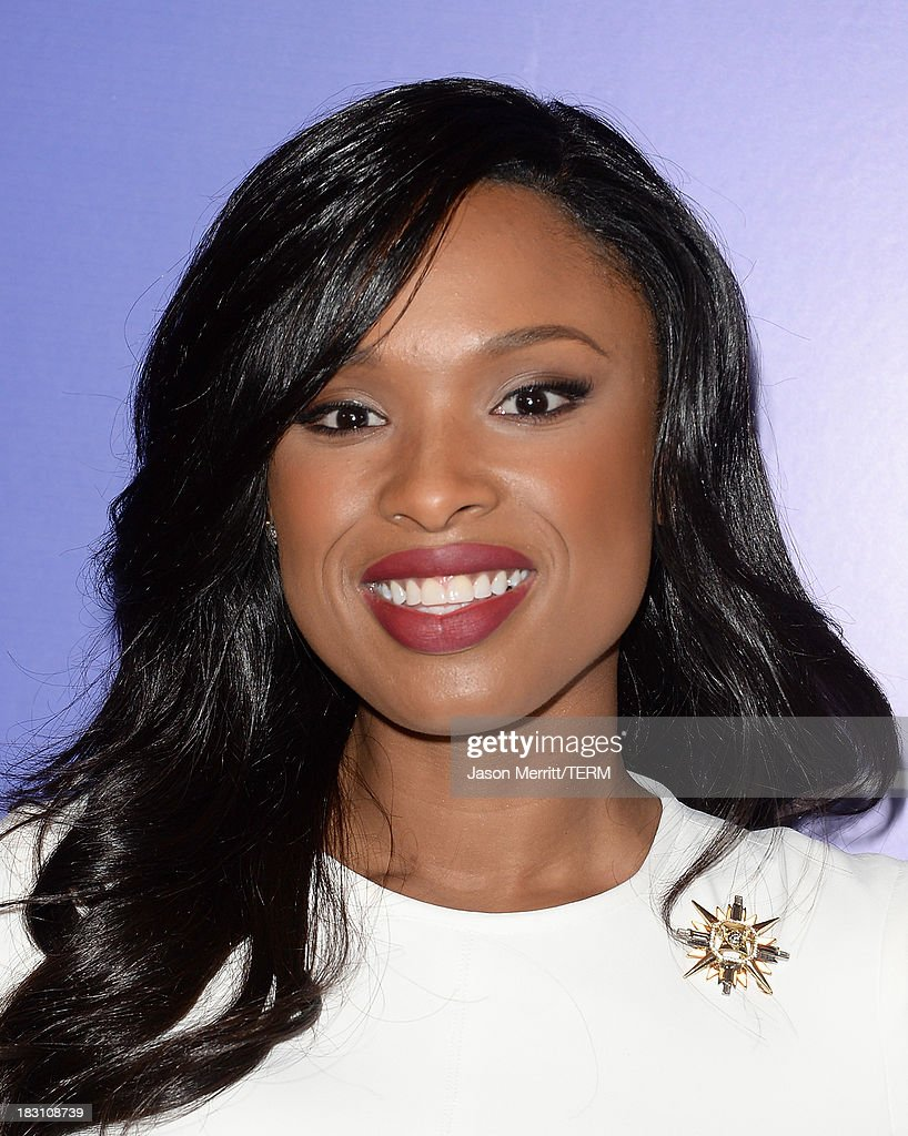 Actress-singer <a gi-track='captionPersonalityLinkClicked' href=/galleries/search?phrase=Jennifer+Hudson&family=editorial&specificpeople=234833 ng-click='$event.stopPropagation()'>Jennifer Hudson</a> arrives at Variety's 5th Annual Power of Women event presented by Lifetime at the Beverly Wilshire Four Seasons Hotel on October 4, 2013 in Beverly Hills, California.