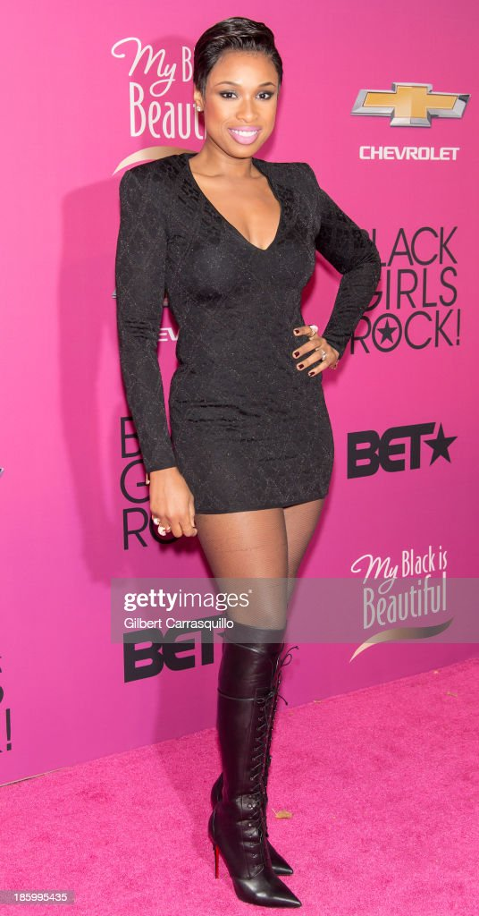 Actress/singer <a gi-track='captionPersonalityLinkClicked' href=/galleries/search?phrase=Jennifer+Hudson&family=editorial&specificpeople=234833 ng-click='$event.stopPropagation()'>Jennifer Hudson</a> attends Black Girls Rock! 2013 at New Jersey Performing Arts Center on October 26, 2013 in Newark, New Jersey.