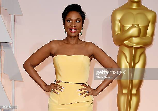 Actress/singer Jennifer Hudson attends the 87th Annual Academy Awards at Hollywood Highland Center on February 22 2015 in Hollywood California