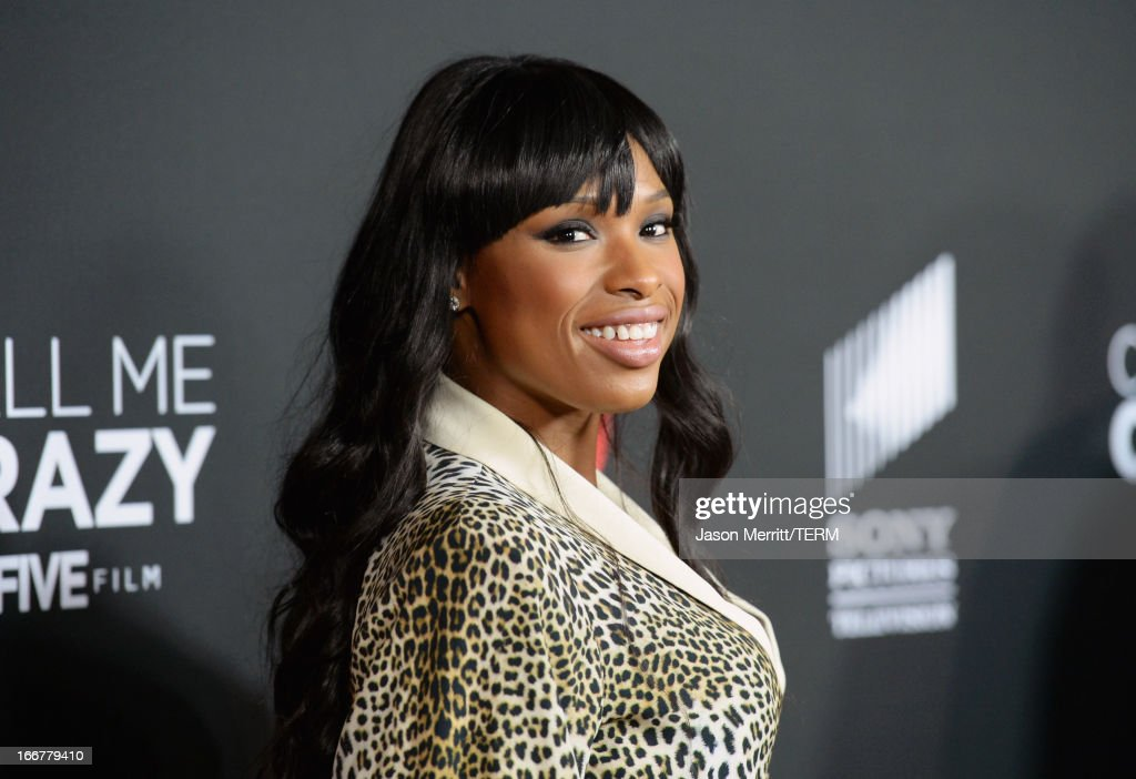 Actress/singer <a gi-track='captionPersonalityLinkClicked' href=/galleries/search?phrase=Jennifer+Hudson&family=editorial&specificpeople=234833 ng-click='$event.stopPropagation()'>Jennifer Hudson</a> attends the premiere of Lifetime's 'Call Me Crazy: A Five Film' at Pacific Design Center on April 16, 2013 in West Hollywood, California.