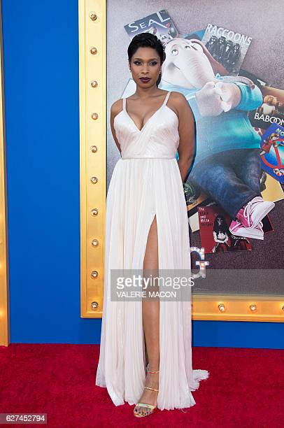 Actress/singer Jennifer Hudson attends the Universal Studio premiere of 'Sing' in Los Angeles California on December 3 2016 / AFP / VALERIE MACON