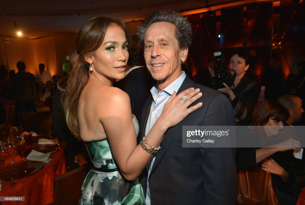 Actress/Singer <a gi-track='captionPersonalityLinkClicked' href=/galleries/search?phrase=Jennifer+Lopez&family=editorial&specificpeople=201784 ng-click='$event.stopPropagation()'>Jennifer Lopez</a> and producer <a gi-track='captionPersonalityLinkClicked' href=/galleries/search?phrase=Brian+Grazer&family=editorial&specificpeople=203009 ng-click='$event.stopPropagation()'>Brian Grazer</a> attend the March of Dimes Celebration of Babies Luncheon at Beverly Hills Hotel on December 6, 2013 in Beverly Hills, California.