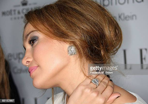 Actress/singer Jennifer Lopez arrives at the 15th annual Women In Hollywood Tribute hosted by ELLE Magazine at the Four Seasons Hotel on October 6...