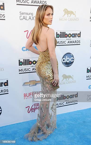 Actress/singer Jennifer Lopez arrives at the 2013 Billboard Music Awards at MGM Grand Garden Arena on May 19 2013 in Las Vegas Nevada