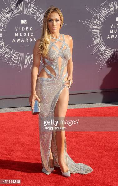 Actress/singer Jennifer Lopez arrives at the 2014 MTV Video Music Awards at The Forum on August 24 2014 in Inglewood California