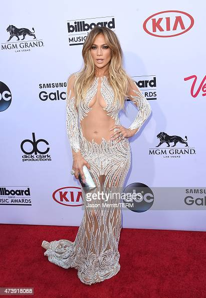 Actress/singer Jennifer Lopez arrives at the 2015 Billboard Music Awards at MGM Garden Arena on May 17 2015 in Las Vegas Nevada