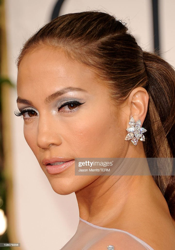 Actress/singer Jennifer Lopez arrives at the 68th Annual Golden Globe Awards held at The Beverly Hilton hotel on January 16 2011 in Beverly Hills...