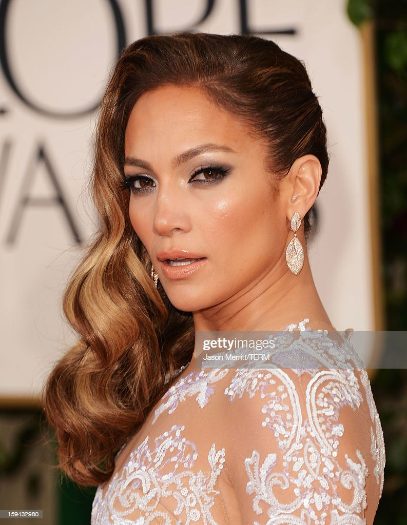 Actress/singer Jennifer Lopez arrives at the 70th Annual Golden Globe Awards held at The Beverly Hilton Hotel on January 13, 2013 in Beverly Hills, California.
