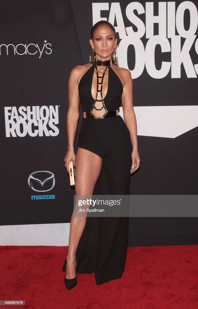 Actress/singer <a gi-track='captionPersonalityLinkClicked' href=/galleries/search?phrase=Jennifer+Lopez&family=editorial&specificpeople=201784 ng-click='$event.stopPropagation()'>Jennifer Lopez</a> attends Fashion Rocks 2014 at Barclays Center on September 9, 2014 in the Brooklyn borough of New York City.
