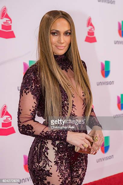 Actress/singer Jennifer Lopez attends The 17th Annual Latin Grammy Awards at TMobile Arena on November 17 2016 in Las Vegas Nevada