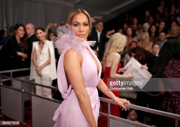 Actress/Singer Jennifer Lopez attends The 59th GRAMMY Awards at STAPLES Center on February 12 2017 in Los Angeles California