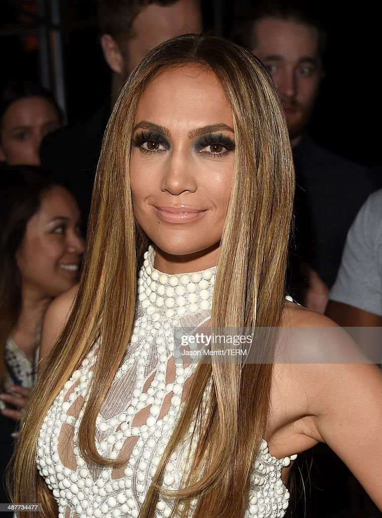 Actress/singer Jennifer Lopez poses backstage at the 2014 iHeartRadio Music Awards held at The Shrine Auditorium on May 1, 2014 in Los Angeles, California. iHeartRadio Music Awards are being broadcast live on NBC.