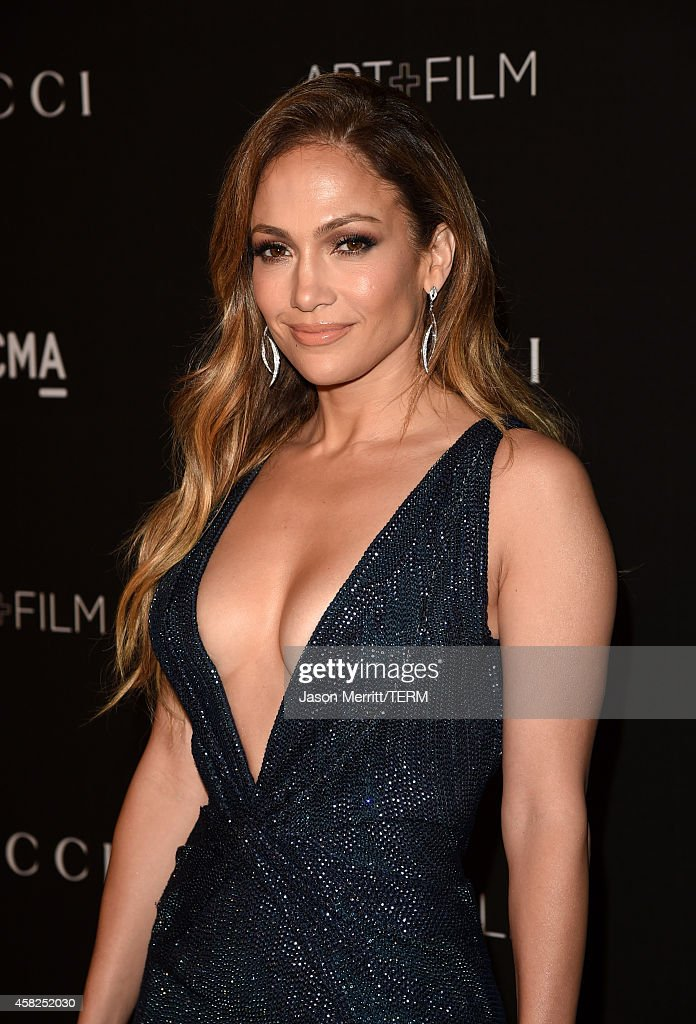 Actress/singer Jennifer Lopez, wearing Gucci, attends the 2014 LACMA Art + Film Gala honoring Barbara Kruger and Quentin Tarantino presented by Gucci at LACMA on November 1, 2014 in Los Angeles, California.
