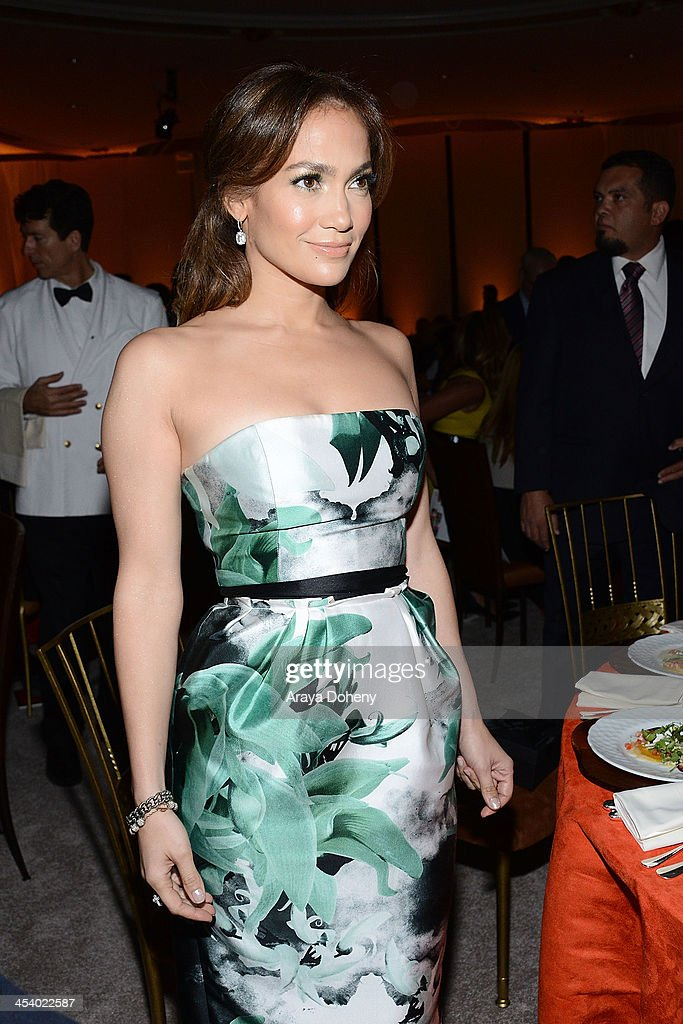 Actress/singer Jennifer Lopez<attends the March of Dimes Celebration of Babies Luncheon> at Beverly Hills Hotel on December 6, 2013 in Beverly Hills, California.