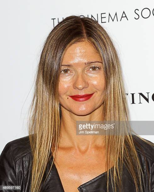 Actress/singer Jill Hennessy attends the The Cinema Society and Ruffino host a screening of Warner Bros Pictures' 'The Intern' at the Landmark's...