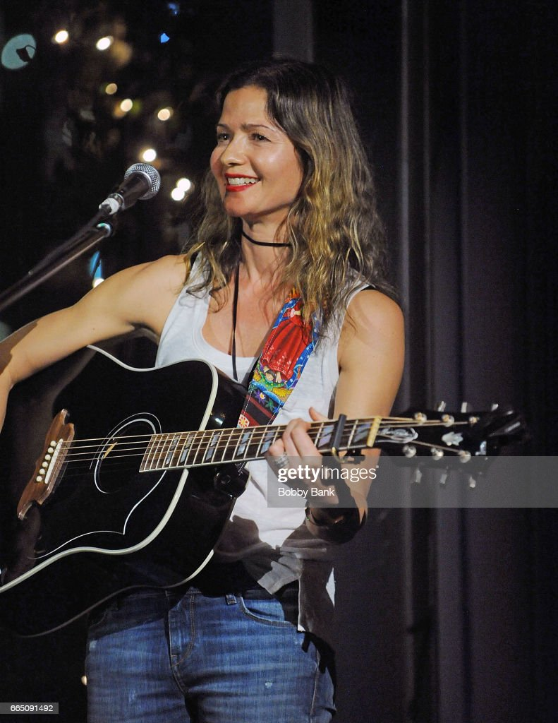 Actress/singer Jill Hennessy performs at at City Vineyard at Pier 26 on April 5, 2017 in New York City.